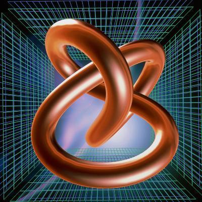 Art of Mathematical Knotted Torus-PASIEKA-Photographic Print