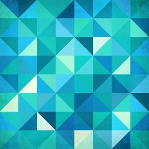 Abstract Colorful Triangles by art_of_sun