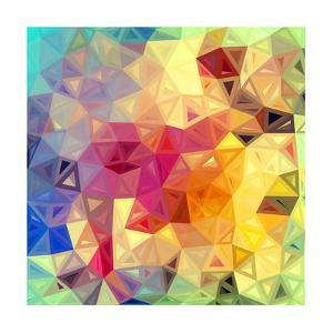 Colorful Abstract Triangles by art_of_sun