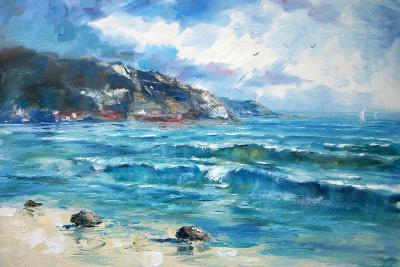 Art Oil-Painting Picture Sea-Shvets Tetiana-Art Print