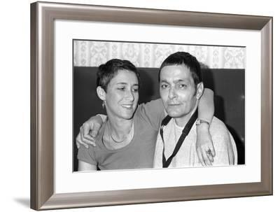 Art Pepper (Laurie), London, 1979-Brian O'Connor-Framed Photographic Print