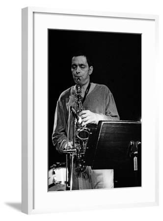 Art Pepper, Ronnie Scotts, Soho, London, 1980-Brian O'Connor-Framed Photographic Print