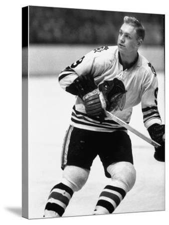 Chicago Black Hawk Ice Hockey Player Bobby Hull During Game
