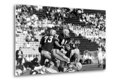 Donny Anderson #44 of Greenbay Packers,Super Bowl I, Los Angeles, California January 15, 1967