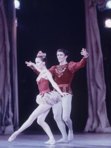 "Edward Villella Dancing ""Rubies"" Sequence with Patricia Mcbride in Balanchine's Ballet ""The Jewels"" by Art Rickerby"