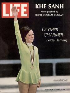 Olympic Charmer Peggy Fleming, February 23, 1968 by Art Rickerby