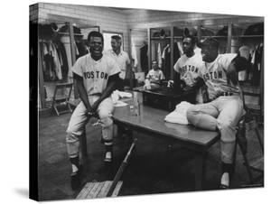 Red Sox Players Reggie Smith and George Scott by Art Rickerby