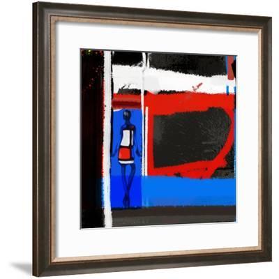 Art Scene-NaxArt-Framed Premium Giclee Print