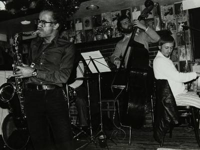 Art Themen, Dave Green, and Michael Garrick Playing at the Bell, Codicote, Hertfordshire, 1981-Denis Williams-Photographic Print