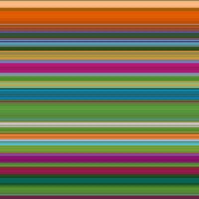 Art Wave 8 of 10 Bold Abstract Art-Ricki Mountain-Art Print