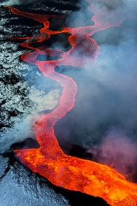 2014 eruption of Bardarbunga, Iceland by Art Wolfe