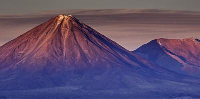 Chilean Andes 3 by Art Wolfe