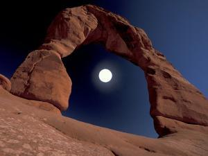 Delicate Arch, Arches National Park, Utah, USA by Art Wolfe