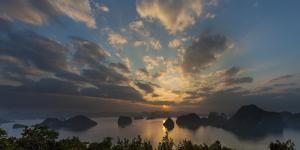 Ha long Bay landscape. Karst mountains, Vietnam, Aisa by Art Wolfe