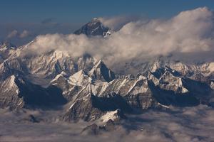 Himalaya Range, Bhutan by Art Wolfe