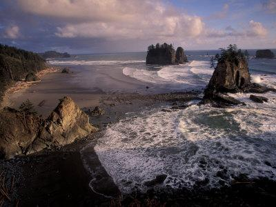 Second Beach, Olympic National Park, Washington, USA