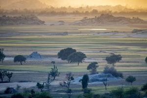 Landscape,  Rajasthan, India by Art Wolfe Wolfe