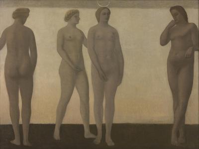 Artemis, 1893-1894-Vilhelm Hammershoi-Giclee Print