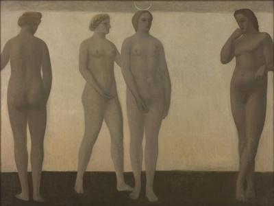 Artemis, 1893-94-Vilhelm Hammershoi-Giclee Print