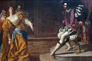 Esther before Ahasuerus by Artemisia Gentileschi