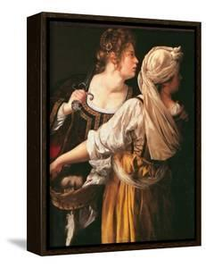 Judith and Her Maidservant (Judith with Holofernes Head) by Artemisia Gentileschi