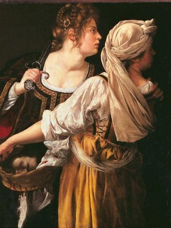 Judith and Her Maidservant (Judith with Holofernes Head)