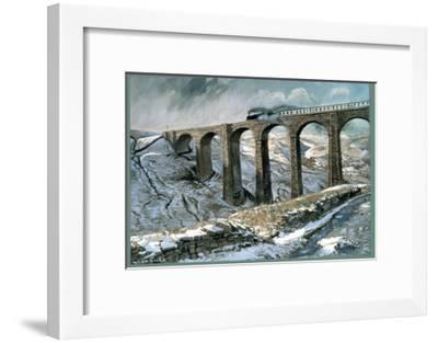 Arten Gill Viaduct-John Cooke-Framed Giclee Print