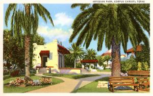 Artesian Park, Corpus Christi, Texas