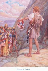 David and the Cut Robe by Arthur A. Dixon