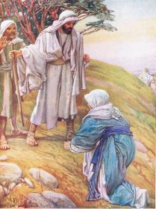 Elisha and the Shunammite by Arthur A. Dixon