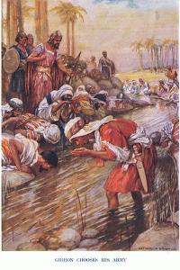 Gideon Chooses His Army by Arthur A. Dixon