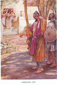 Jephthah's Vow by Arthur A. Dixon