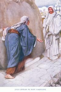 Jesus Appears to Mary Magdalene by Arthur A. Dixon