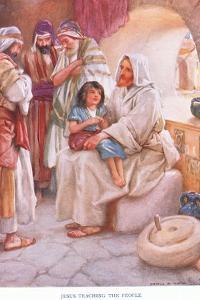 Jesus Teaching the People by Arthur A. Dixon
