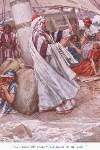 Paul Tells His Fellow Passengers of His Vision by Arthur A. Dixon