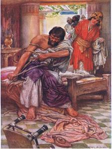 Samson Broke the Ropes That Bound Him by Arthur A. Dixon
