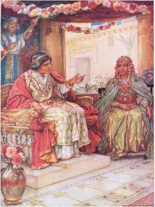 Soloman and the Queen of Sheba by Arthur A. Dixon