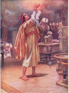 Soloman Asking for Wisdom by Arthur A. Dixon
