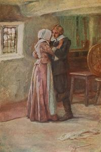 The Courtship of Miles Standish by Arthur A. Dixon