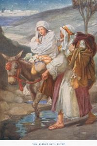 The Flight into Egypt by Arthur A. Dixon