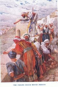 The Priests March around Jericho by Arthur A. Dixon