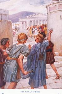 The Riot at Ephesus by Arthur A. Dixon