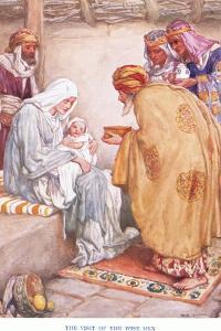 The Visit of the Wise Men by Arthur A. Dixon