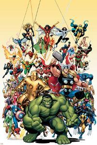 Avengers Classics No.1 Cover: Hulk by Arthur Adams