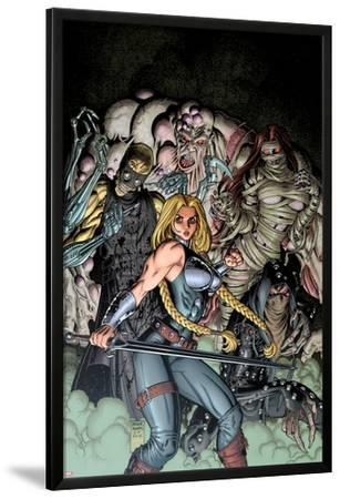 Fear Itself: The Fearless No.10 Cover: Valkyrie