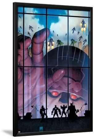 Secret Avengers #35 Cover: Sentinel by Arthur Adams