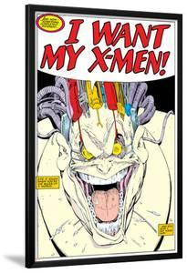 X-Men Super-Sized Annual No.12 Headshot: Mojo by Arthur Adams