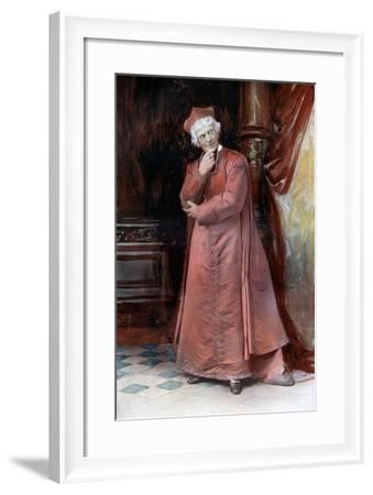 Arthur Bourchier in the Bishop's Move, C1902- Ellis & Walery-Framed Giclee Print