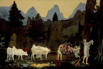 Pastoral Dells and Peaks, c.1908-11