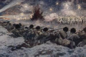 A Night Attack by the Germans at Grodno by Arthur C. Michael